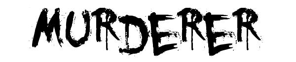 You-Murderer-Font-Horror-Font